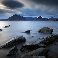 Buy canvas prints of Rocky Shore of Elgol by Grant Glendinning