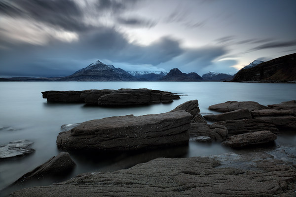 Skye Rocks Canvas Print by Grant Glendinning