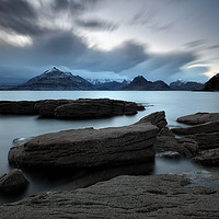 Buy canvas prints of Skye Rocks by Grant Glendinning