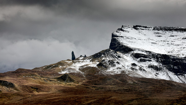 The Storr Canvas print by Grant Glendinning
