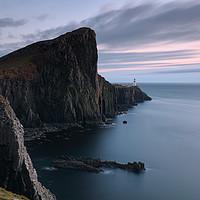 Buy canvas prints of Neist Point Sunset - Isle of Skye by Grant Glendinning