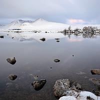 Buy canvas prints of Winter Sunrise Glencoe by Grant Glendinning