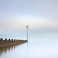 Buy canvas prints of Portobello long exposure by Grant Glendinning