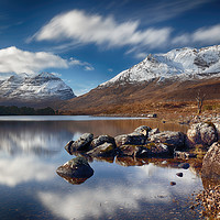 Buy canvas prints of Liathach by Grant Glendinning