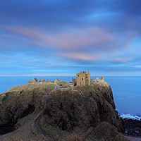 Buy canvas prints of Dunnottar Castle Twilight by Grant Glendinning