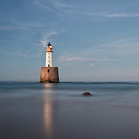Buy canvas prints of Lighthouse Twilight by Grant Glendinning