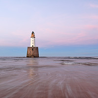 Buy canvas prints of Lighthouse Sunset by Grant Glendinning