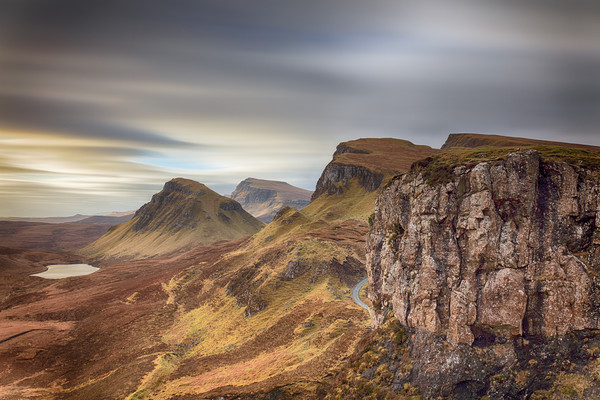 Quiraing - Isle of Skye Canvas Print by Grant Glendinning