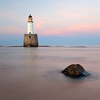 Buy canvas prints of Sunset at Rattray Head Lighthouse by Grant Glendinning