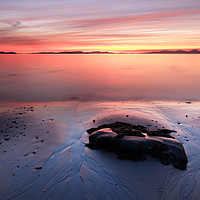 Buy canvas prints of Kintyre Coastal Sunset by Grant Glendinning