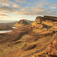 Buy canvas prints of Quiraing morning light by Grant Glendinning