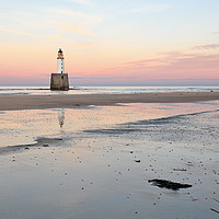 Buy canvas prints of Lighthouse Sunset - Rattray Head by Grant Glendinning