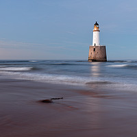 Buy canvas prints of Rattray Head Lighthouse Evening by Grant Glendinning