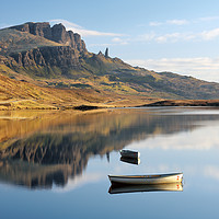 Buy canvas prints of Storr reflection by Grant Glendinning