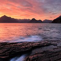 Buy canvas prints of Elgol Sunset - Isle of Skye 2 by Grant Glendinning