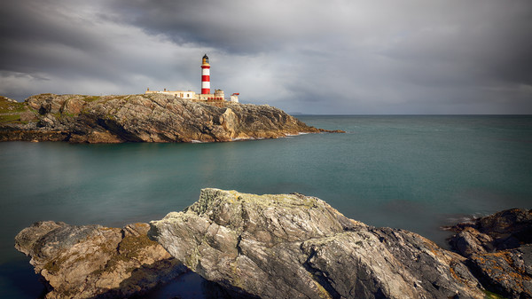 Eilean Glas Lighthouse Canvas Print by Grant Glendinning