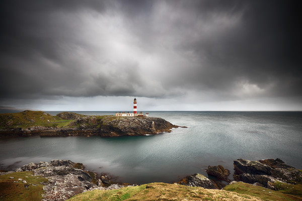 Eilean Glas Lighthouse Canvas Print by Grant Glendinning
