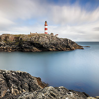 Buy canvas prints of Eilean Glas lighthouse by Grant Glendinning
