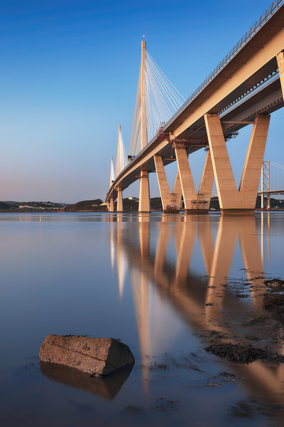 Queensferry Crossing 5 Canvas Print by Grant Glendinning