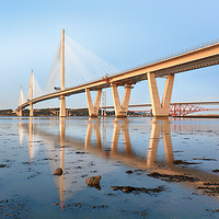 Buy canvas prints of Queensferry Crossing  by Grant Glendinning