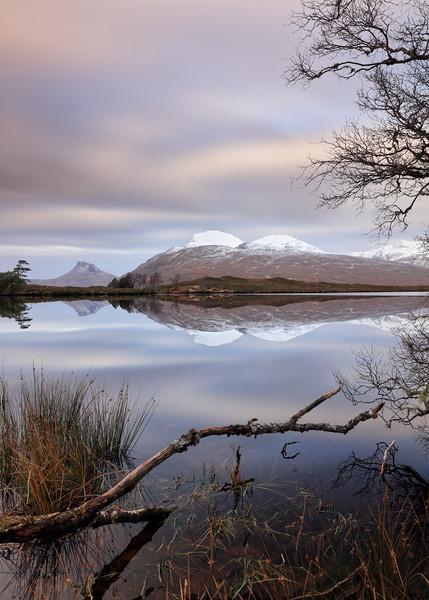 Loch Cul Dromannan Canvas print by Grant Glendinning