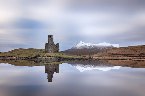 Ardvreck Castle Reflection Canvas print by Grant Glendinning