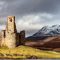 Buy canvas prints of Ardvreck Castle by Grant Glendinning