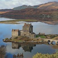 Buy canvas prints of Eilean Donan Castle - Panorama by Maria Gaellman