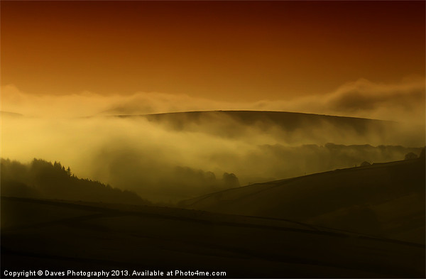 Derbyshire Peak District Canvas print by Daves Photography
