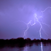 Buy canvas prints of Thunder n Lightning by Canvas prints by Jacovos Jacovou (Travelling Journ