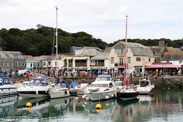 Padstow Harbour Canvas Print by Carol Edwards