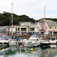 Buy canvas prints of Padstow Harbour by Carol Edwards