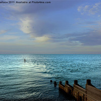 Buy canvas prints of sea views by angela wallace