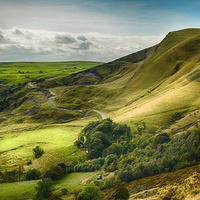 Buy canvas prints of Mam Tor Peak District by angela wallace
