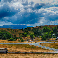 Buy canvas prints of The Great Orme Tramway by Angela Wallace