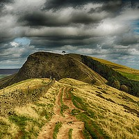 Buy canvas prints of Path to Back Tor by Angela Wallace
