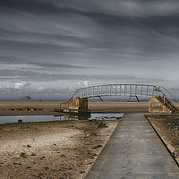 Buy canvas prints of A bridge to nowhere by Angela Wallace