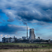 Buy canvas prints of Tarmac cement plant by Angela Wallace