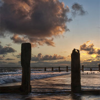 Buy canvas prints of Crow Point by Dave Wilkinson  North Devon Photography