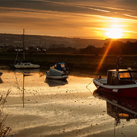 Buy canvas prints of Velator Quay by Dave Wilkinson  North Devon Photography