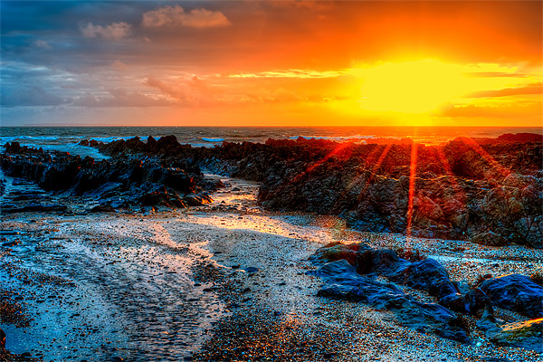 Down End Croyde Bay Canvas print by Dave Wilkinson  North Devon Photography