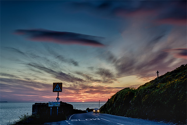 Surfer Highway Canvas print by Dave Wilkinson  North Devon Photography