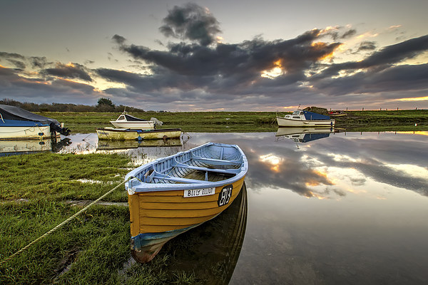 Old salmon Boat Canvas print by Dave Wilkinson  North Devon Photography