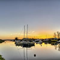 Buy canvas prints of Velator sunset, North Devon by Dave Wilkinson  North Devon Photography