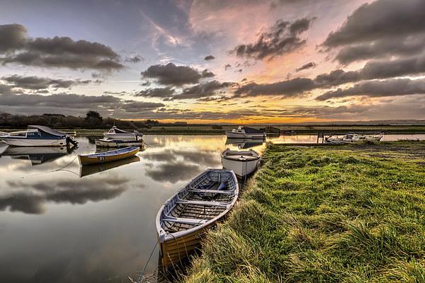 Velator Quay North Devon Canvas print by Dave Wilkinson  North Devon Photography