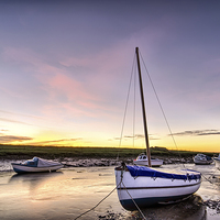 Buy canvas prints of Velator sunrise, North Devon by Dave Wilkinson  North Devon Photography
