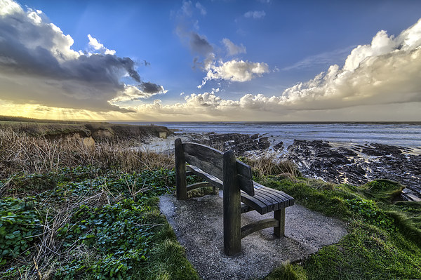 Down End, Croyde Bay. Canvas print by Dave Wilkinson  North Devon Photography