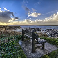 Buy canvas prints of Down End, Croyde Bay. by Dave Wilkinson  North Devon Photography