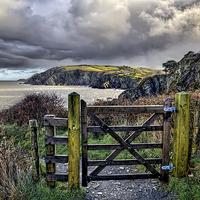 Buy canvas prints of Sandy Cove, Lee Bay, North Devon by Dave Wilkinson  North Devon Photography