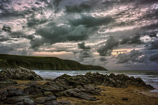 Putsborough Sands Canvas print by Dave Wilkinson  North Devon Photography